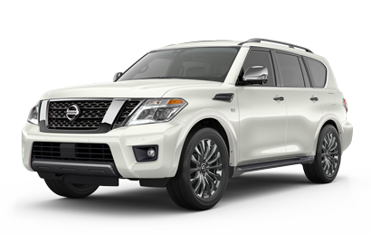 As Shown 2020 Armada 4x4 with Platinum Reserve Package