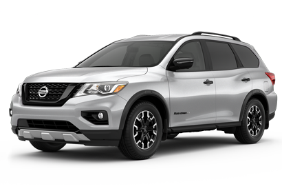 As Shown 2020 Pathfinder SL 4WD Rock Creek Edition